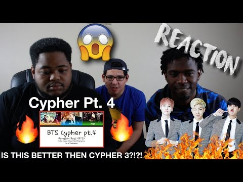 """REACTING TO BTS (방탄소년단) - BTS Cypher pt.4 """"Is this better then cypher 3?"""" 