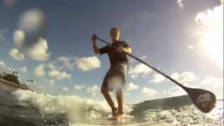 How to catch a wave with a stand up paddle board - extended - Blue Planet Surf - SUP
