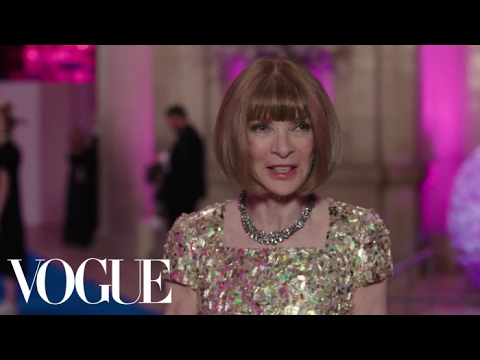 Anna Wintour on Whether She Dresses Sexy or Interesting   Met Gala 2017