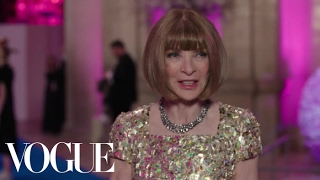 Anna Wintour on Whether She Dresses Sexy or Interesting | Met Gala 2017