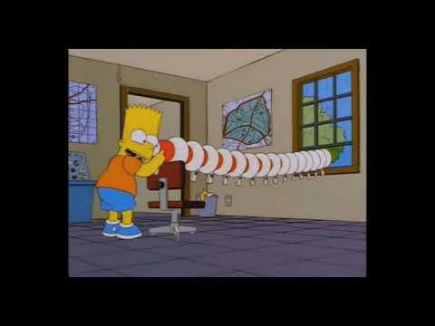 bart megaphone yodeling walmart kid (EAR RAPE  IN 4K)