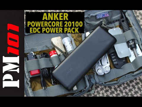 Anker Powercore 20100: EDC Power When You Need It - Preparedmind101 - YouTube