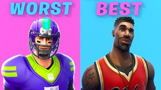 Ranking All SPORT Skins In Fortnite