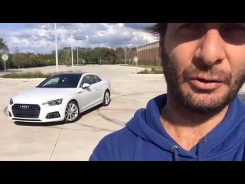 Audi A5 2018 - A Bordo En Vivo