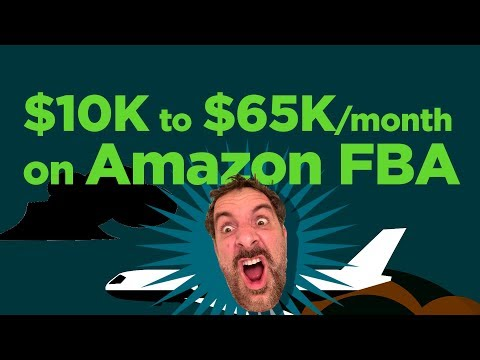 $10,000 Investment to $65,000 per Month Selling on Amazon FBA - Dean Christener - EP126