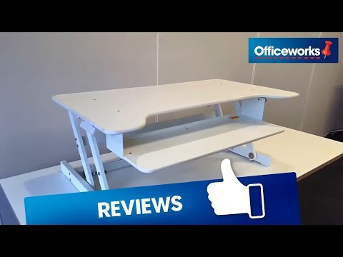 Wynston Sit Stand Desk Overview Youtube