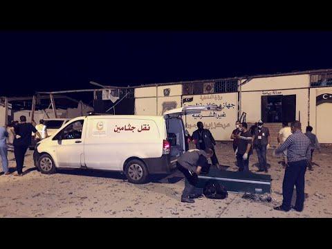 Des dizaines de migrants tués dans un raid aérien en Libye
