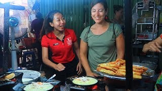 Visit Ngon Xeo Cake Restaurant Saigon Always have foreign customers to eat for only 5k
