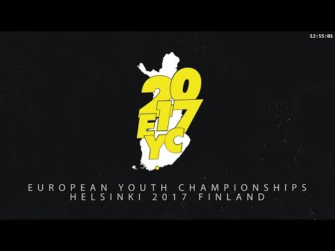 European Youth Championships 2017 -  Girls Doubles, Final step