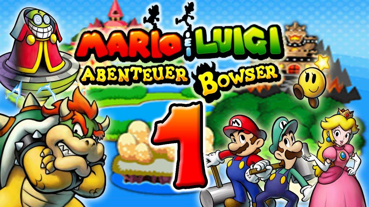 Let\'s Play Mario & Luigi Abenteuer Bowser Part 1: Vergiftete Big ...
