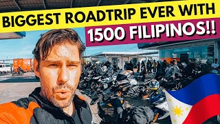NEVER expected THIS in the PHILIPPINES! Road Trip with 1500 FILIPINOS!!!