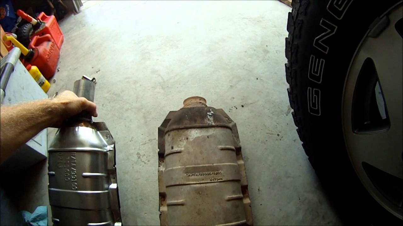Direct Fit Catalytic Converter >> Catalytic Converter Rattle - YouTube
