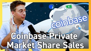 Coinbase IPO: Coinbase Lists Secondary Shares In Preparation To Go Public Via Direct Listing 📈