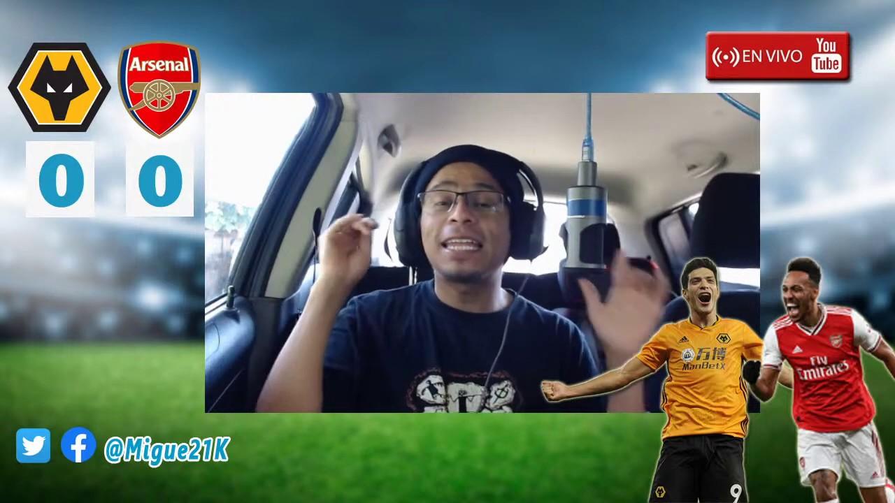 EN DIRECTO : WOLVES vs ARSENAL | Premier League - Jornada 33 | REACCIONANDO EN VIVO