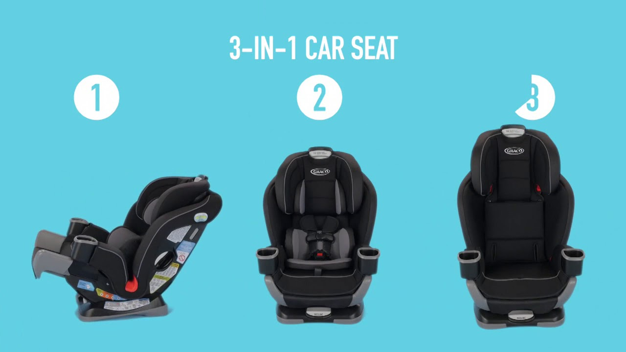 Extend2Fit 3 In 1 Car Seat