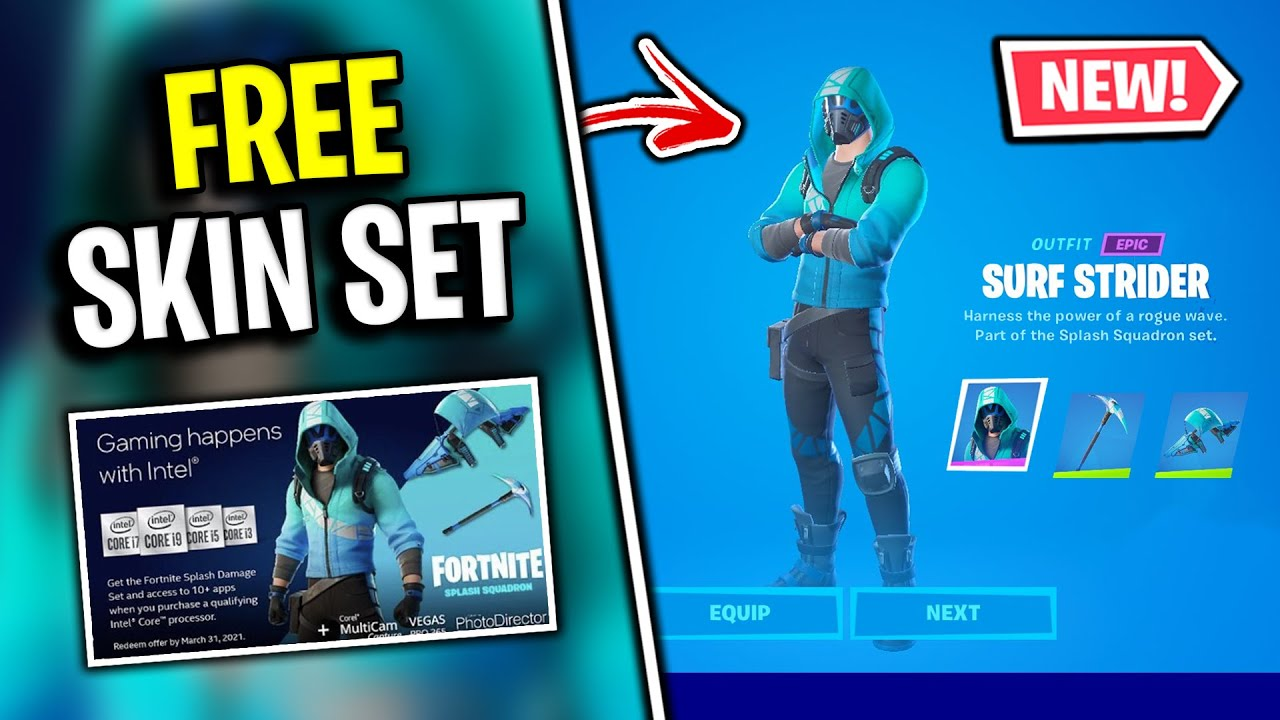 You May Be Eligible For A Free Skin Pickaxe Glider Intel Cpu X Fortnite Youtube Fortnite battle royale news, esports, leaks, clips fortnite was the 2nd most watched game on twitch in 2020, with over 1 billion hours watched. you may be eligible for a free skin pickaxe glider intel cpu x fortnite