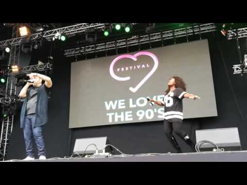 Culture Beat - Turn Me Inside Out @ We Love The 90s Helsinki 26/08/2016