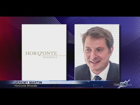 Horizonte Minerals' Jeremy Martin 'very pleased' with grades from trial drilling programme