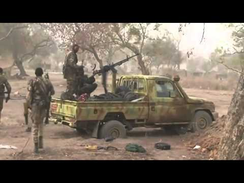 Nuba Warriors From South Sudan: In a major Fire Fight