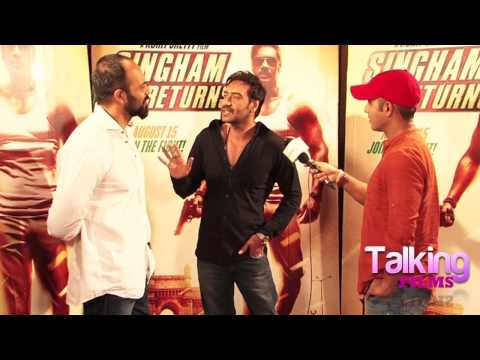 Ajay Devgn Rohit Shetty Full Interview On Singham Returns Success