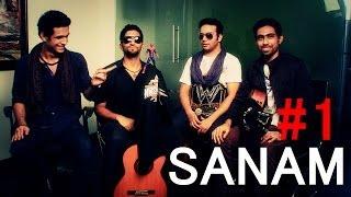 sanam    sing the hit song teri aankhon se    part 1