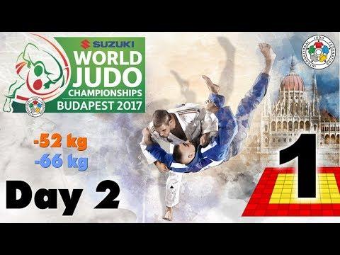 Suzuki World Judo Championships 2017: Day 2 - Elimination