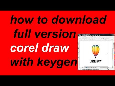 how to download corel draw with keygen in hindi urdu english tutorial