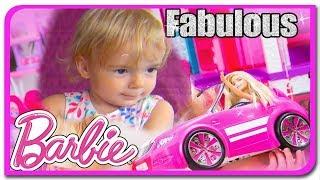 Barbie si Darbie in masina la Anabella Show