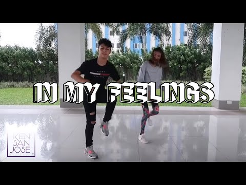 DRAKE - IN MY FEELINGS Dance & Tutorial | Ken San Jose Ft. Pamela Swing