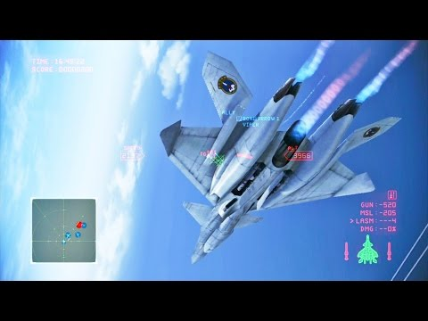 Ace Combat Infinity (Mission 6) Avalon (XFA-33 Fenrir)