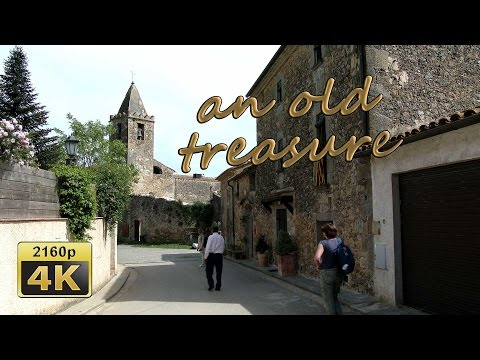 Romanesque paintings of Ravós Terri, Catalonia - Spain 4K Travel Channel