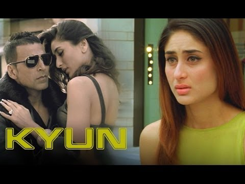 Kyun (Video Song) | Kambakkht Ishq | Akshay Kumar & Kareena Kapoor