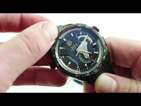 TAG Heuer Grand Carrera Calibre 36 RS Chrono Luxury Watch Review