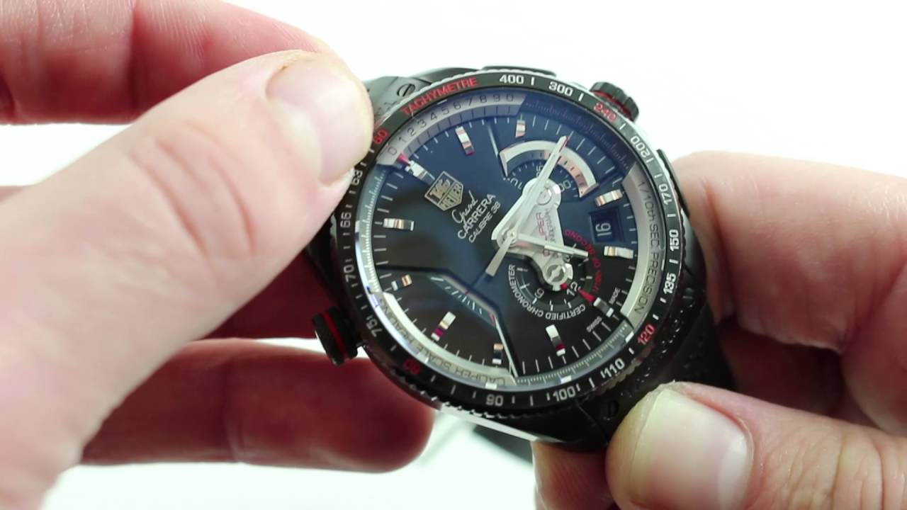 0219d6ad815d0 TAG Heuer Grand Carrera Calibre 36 RS Chrono Luxury Watch Review ...