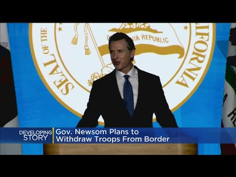 Gov. Newsom: Border Emergency Nothing More Than Manufactured Crisis Mp3
