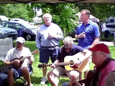 Festival of the Bluegrass 2014 jam