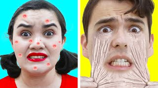 8 GENIUS BEAUTY HACKS YOU NEED TO TRY | EASY DIYS FOR GIRLS TO AVOID AWKWARD MOMENTS BY CRAFTY HACKS