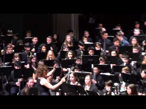 Henry M Jackson High School Winter Concert 2014 - Combined Band - A Christmas Festival - 12/18/2014