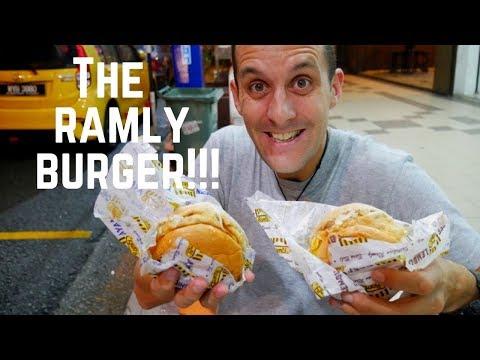 RAMLY BURGER- epic street burger in MALAYSIA | Food and Travel Channel | Kuala Lumpur, Malaysia