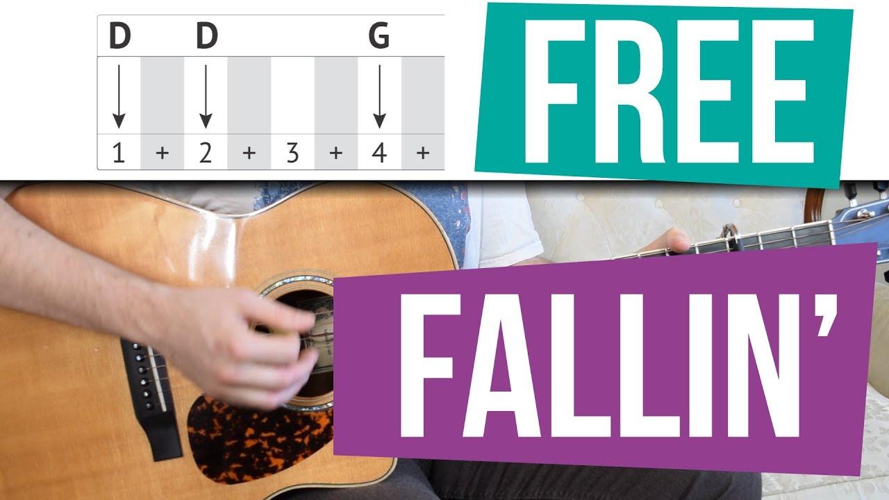 Free fallin easy guitar tutorial capo and no capo versions free fallin easy guitar tutorial capo and no capo versions tom petty hexwebz Image collections