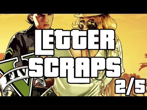 Grand Theft Auto 5 - Letter Scraps Locations - 2/5 - Southwest - GTA V A Mystery Solved  GTA 5