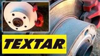 Тормозные диски и колодки TEXTAR через 10 000 км на Ауди А6 С5