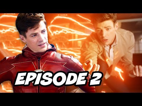 The Flash Season 4 Episode 2 - TOP 10 WTF and Comics Easter Eggs