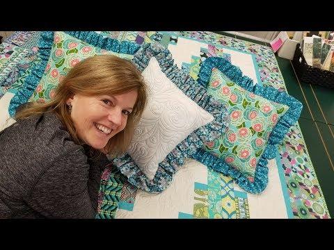 ruffled-pillows!