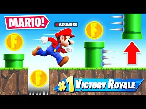 50 STAGE *SUPER MARIO* DEATHRUN In Fortnite Battle Royale