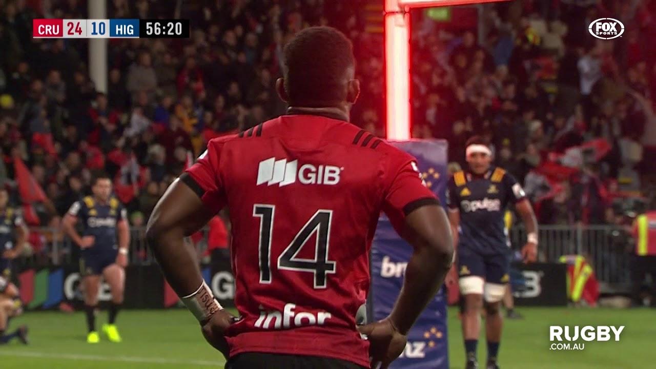 Super Rugby 2019 Round Nine: Crusaders vs Highlanders