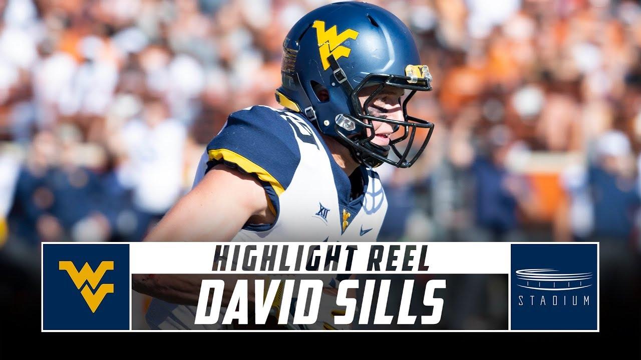 size 40 0ea24 92418 David Sills West Virginia Football Highlights - 2018 Season | Stadium