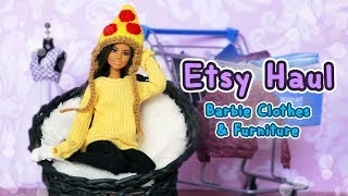 Barbie Etsy Haul: Clothes, Furniture & More! #2
