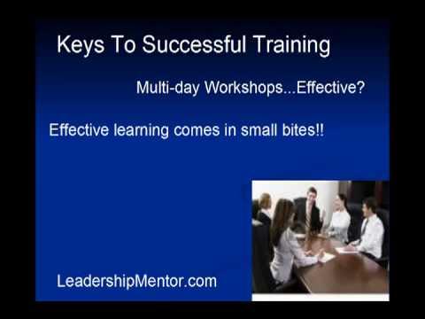 Effective Supervisor Training