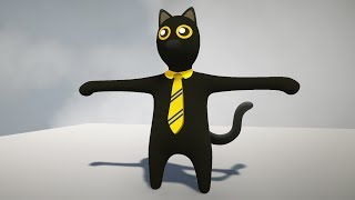 SIR MEOWS A LOT IS IN HUMAN FALL FLAT!